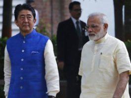 Abe, Modi
